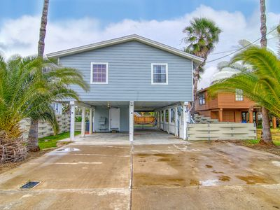 Photo for House in town, blocks to beach, fenced yard!