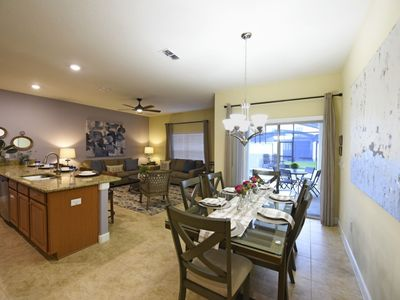 Photo for STUNNING 4BD TH @STORY LAKE RSRT w/Splash Pool, 4 miles to Disney/Central to Universal & Sea World