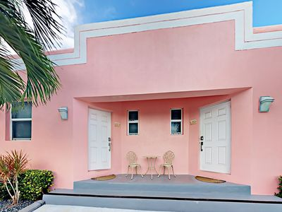 Photo for Limescape at Art Deco Beach Bungalows - 1 Block to Hollywood Beach Broadwalk!