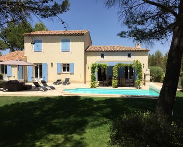 Photo for Superb 4 bedroom Villa on Pont Royal Golf Course with private heated pool