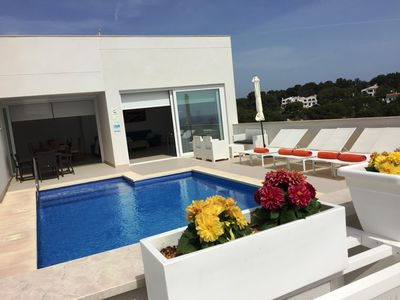 Photo for Villa Agueda Fantastic villa in Cala Galdana (builded 2015)