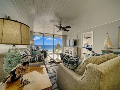 Photo for C-Viewpcb at Edgewater - New Rental! Beach Front 2 BR/2 BA Condo, Tower II, 410.