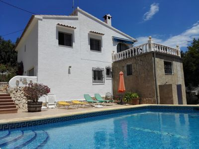Photo for Benissa Costa: Holiday Villa for rent in Benissa Costa La Fustera (Calpe)