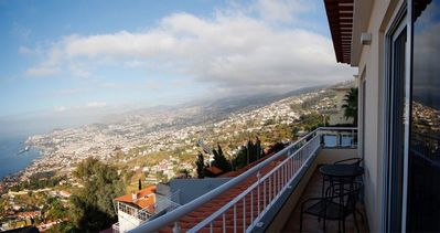 Photo for Luxury villa in a quiet area with panoramic view over the city of Funchal