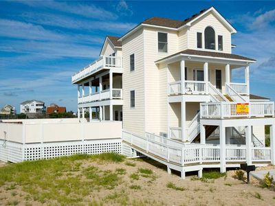 Stress-Free in Rodanthe! Oceanview-Pool, Hot Tub, GameRm, Elevator, Sound Access