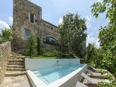 Photo for Stone house with pool 4 km from the sea and next to two natural parks