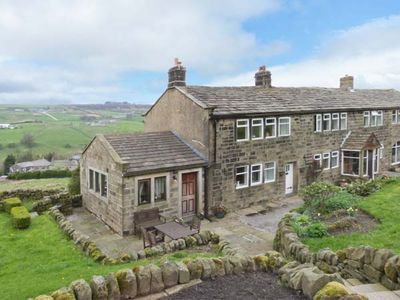 Photo for ROYDS HALL  COTTAGE, romantic, with open fire in Haworth, Ref 912326