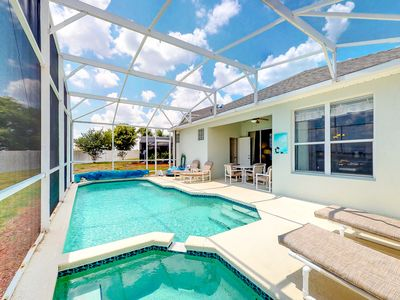 Photo for Charming family-friendly home with private pool, game room, and more!