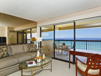 Photo for LUCKY YOU!  Breathtaking ocean and Diamond Head Views!