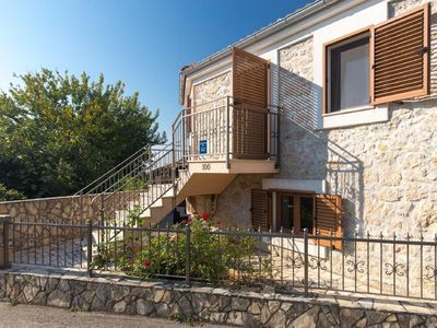 Photo for Holiday house Vrbnik for 4 - 5 persons with 2 bedrooms - Holiday house