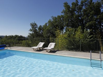 Photo for Les Chênes Blancs, beautiful house on two hectares, swimming pool, shaded oak grove