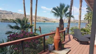 Photo for RIVERFRONT + CASITA , DOCK, POOL TABLE,   weekly/monthly discounted
