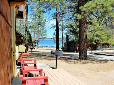 Photo for *LAKEVIEW RESORT CABIN~Walk To Village/Marina~