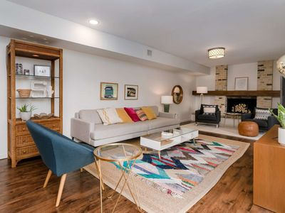 Photo for Mid-Century Modern, Split-Level Home In Central Austin. Perfect for Big Groups, Families & Execs!