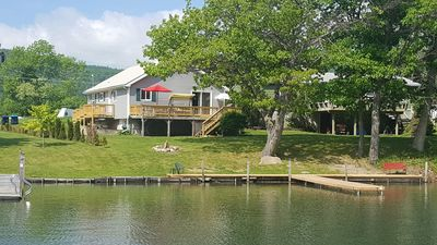 Photo for Incredible Family Getaway Home With Boat Dock