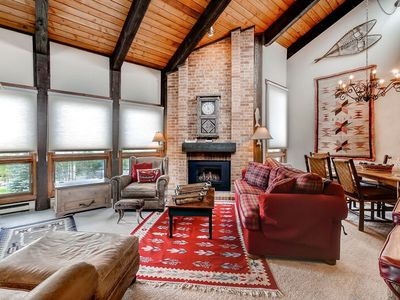 Photo for Cheery Mountain Condo-Perfect for Two Couples!  250YDS from Mountain Activities