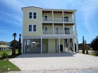 Photo for Sunset Serenity, in Sunset Beach with private pool, elevator, pool table, and space for 14 guests