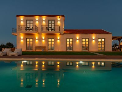 Photo for Aquila Villa, a new villa with breathtaking panoramic view and huge pool