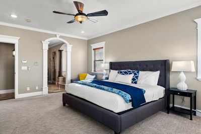Master Suite. Come see why we call it the West Wing!