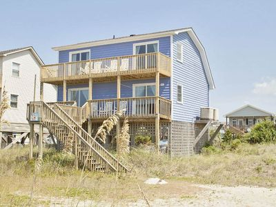 Photo for Mead Us At The Beach: 3 BR / 2 BA home in Oak Island, Sleeps 10