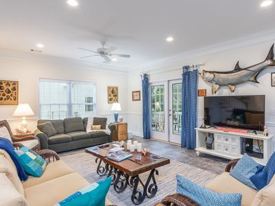 Photo for Comfortable beach home, Walk-ability to North Beach and Village, Home away from Home