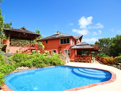 Photo for Balinese Villa with Pool Near Beach - Retreat House (3 bed)
