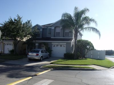 Photo for Lake view 4 Bedroom 2.5 Bath Vacation Pool Home in Orlando, Florida