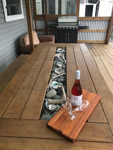 Dining Table, back deck