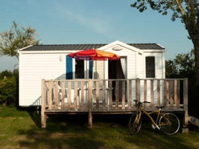 Photo for Camping Sun Océan *** - Mobilhome for 4 People