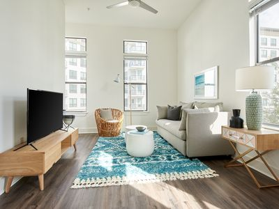 Photo for Sonder | Steelhouse | Sunny 1BR + Pool