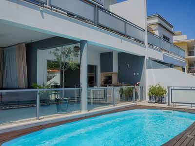 Photo for Modern Villa with fantastic views Sesimbra Castle - Private Pool