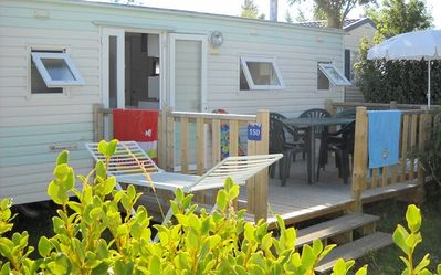 Photo for Camping Les Genêts **** - _Mobil Home 3 Rooms 4 People