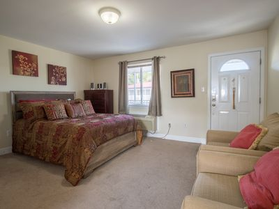 Photo for Studio near Beach & Historic District w/ WiFi, Complex Pool & Gym Access