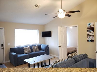 Photo for Relaxing 2 bed 2 bath! Located 30min from Daytona Beach!