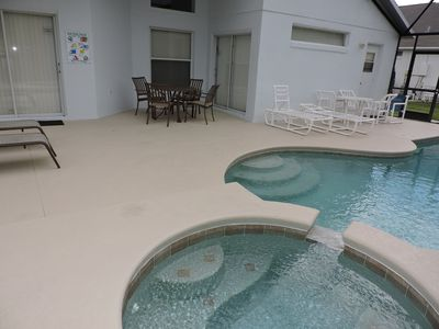 Photo for Beautiful 4 Bed 3 Bath villa with own pool/spa. Gated Resort near Disney