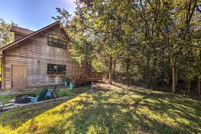 Stay at this 2-bedroom, 1-bath vacation rental cottage in Franklin!