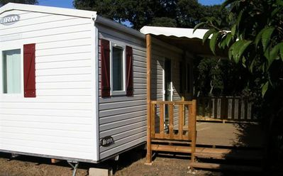 Photo for Camping Domaine de Gajan **** - Mobile home 3 Rooms 5 Persons