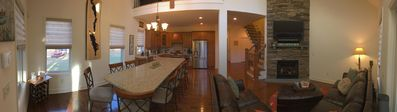 Panorama of Main Living Space.
