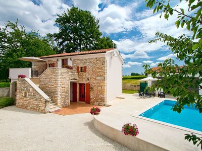 Photo for Old restored stone villa with private pool