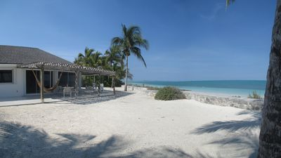 Photo for Private House on Exclusive Beach- right on the water.