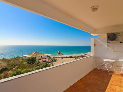 Photo for Beach and Sea 3, property with sea views, 2 beds, 2 bathrooms and balcony!
