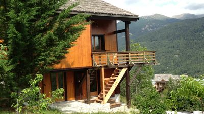 Photo for Charming cozy cottage for rent in the heart of Val d'Allos.