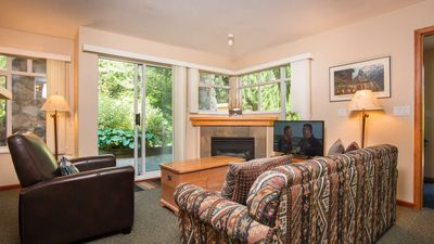 Photo for Amazing location steps from Whistler Village, with outdoor heated pool/hot tub!