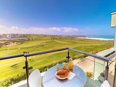 Photo for Zinc Penthouse an amazing apartment overlooking Fistral Beach