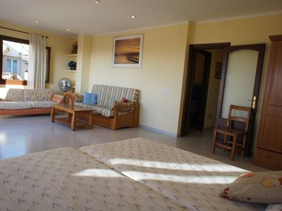 Photo for 4 bedrooms, 8 people, sea view terraces, 450 m. sand beach