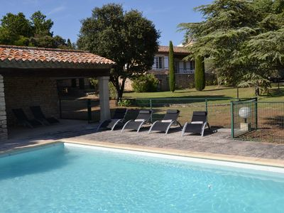 Photo for Stone house near Gordes, Luberon face 5mn tennis courts