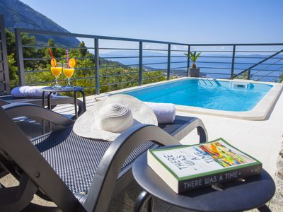 Photo for Villa Marina - Peaceful Isolated Holiday Home w/Pool with Mountain/Sea View