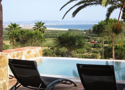 Breathtaking view from the terrace and from plunge pool