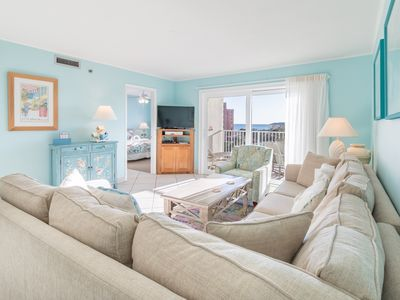 Photo for Gulf Views! Walk 2 Jetties! Pool☀️Inspected & Disinfected☀️2BR The Islander 416