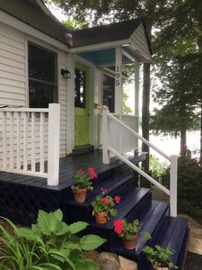 Photo for Classic Maine waterfront cottage on pristine Highland Lake Windham/Falmouth